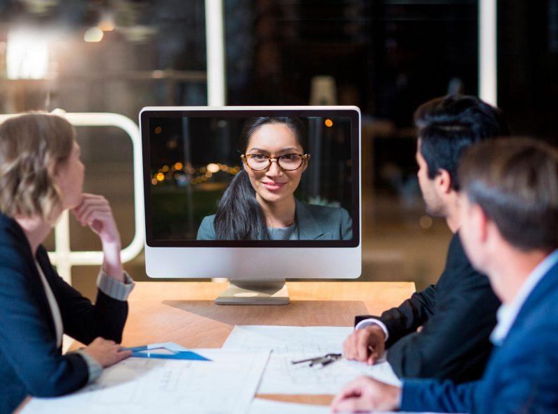 lavoro collaborativo - videochiamata unificata