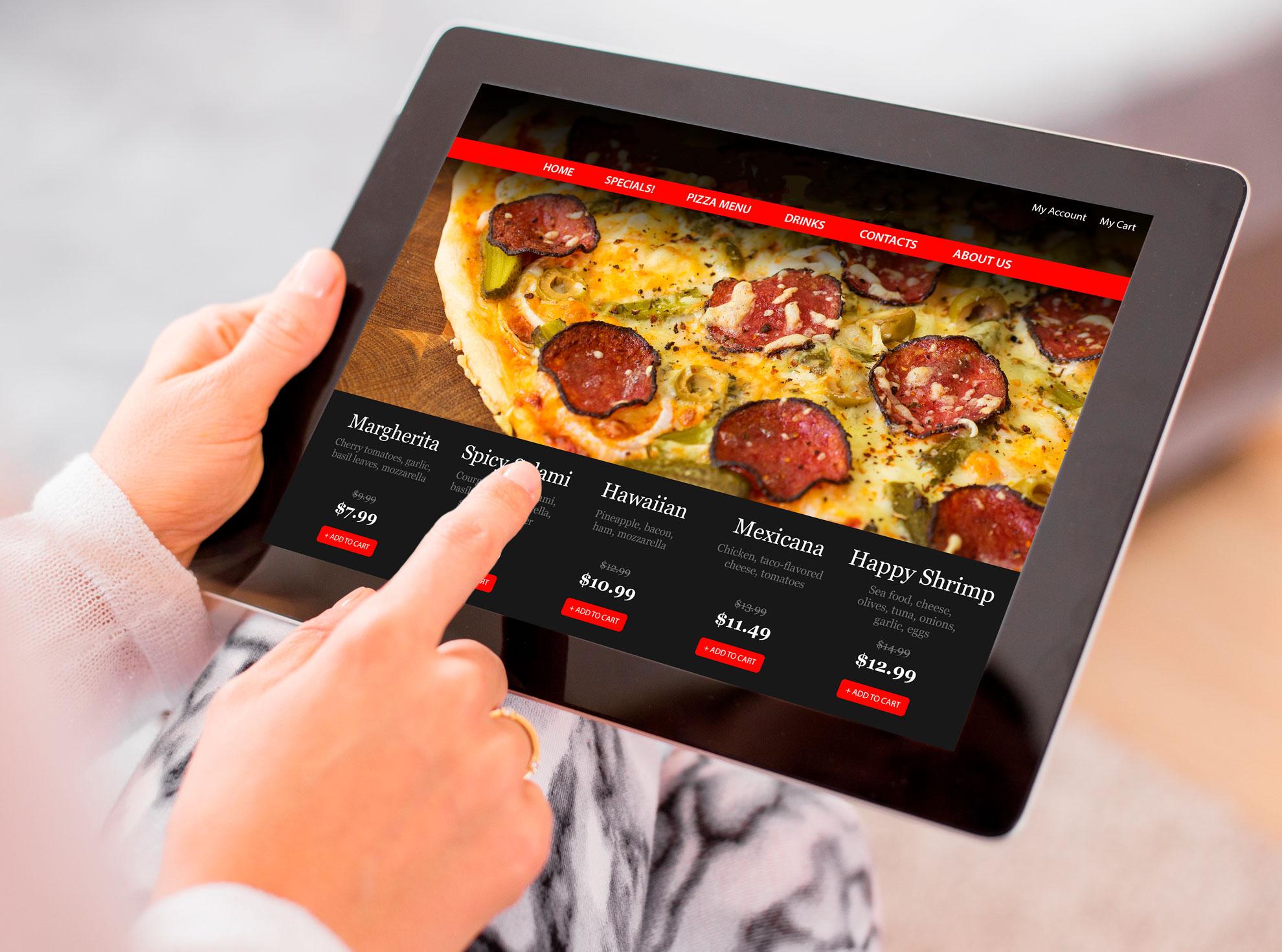 innovazione ristoranti - tablet comande