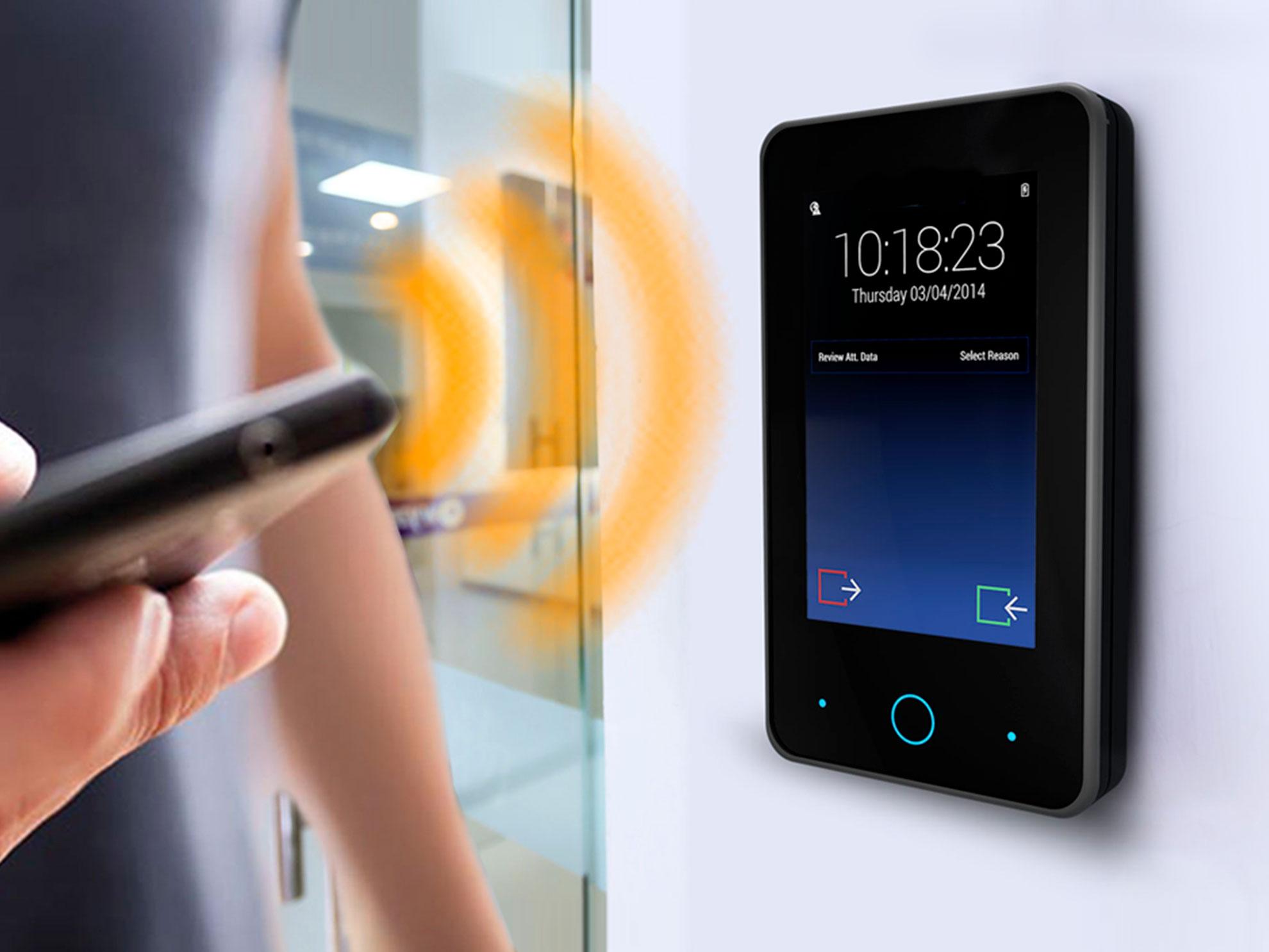 usare smartphone come badge mobile